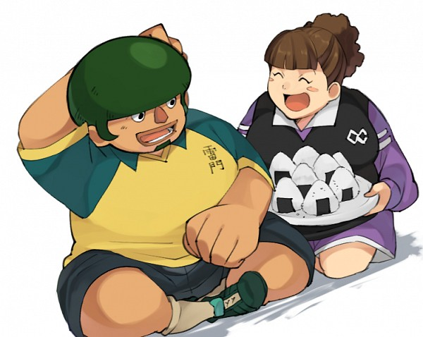 Tags: Anime, Petagon, Inazuma Eleven, Kabeyama Heigorou, Dosu Koi, Onigiri, Fanart From Pixiv, Fanart, Pixiv