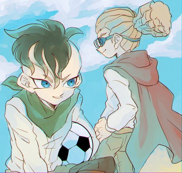 Tags: Anime, Pixiv Id 23777129, Inazuma Eleven, Fudou Akio, Kidou Yuuto, Gouenji Shuuya, Fanart From Pixiv, PNG Conversion, Pixiv, Fanart