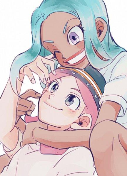 Tags: Anime, Pixiv Id 23777129, Inazuma Eleven, Urabe Rika, Zaizen Touko, Pixiv, Fanart From Pixiv, Fanart