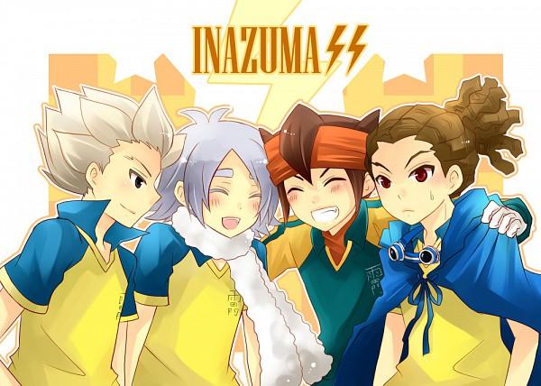 Tags: Anime, Kao (choco*icz), Level-5, Inazuma Eleven, Fubuki Shirou, Endou Mamoru, Kidou Yuuto, Gouenji Shuuya, Fanart, Break Team