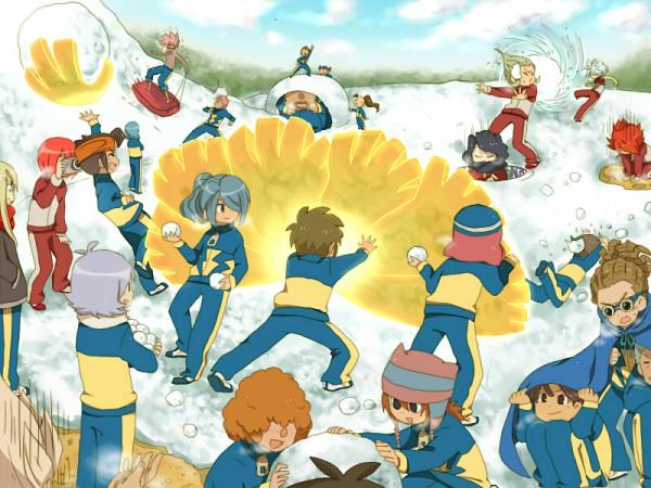 Inazuma eleven image 294294 zerochan anime image board for Domon x ichinose