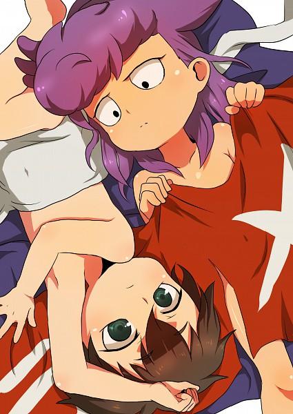 Tags: Anime, Pixiv Id 183082, Level-5, Inazuma Eleven, Tobitaka Seiya, Fudou Akio, Pixiv, Fanart