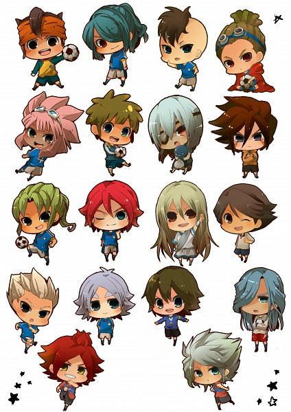 Tags: Anime, Level-5, Inazuma Eleven, Nagumo Haruya, Tachimukai Yuuki, Kazemaru Ichirouta, Genda Koujirou, Afuro Terumi, Kidou Yuuto, Endou Mamoru, Sakuma Jirou, Fidio Aldena, Fubuki Shirou