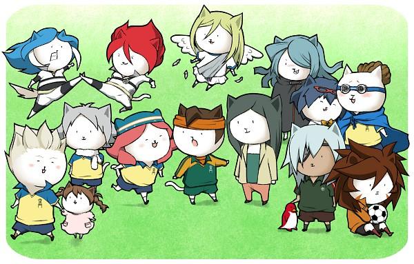 Tags: Anime, Aobe, Level-5, Inazuma Eleven, Fubuki Shirou, Gouenji Yuuka, Sakuma Jirou, Otonashi Haruna, Kiyama Hiroto, Yagami Reina, Kazemaru Ichirouta, Kidou Yuuto, Nagumo Haruya