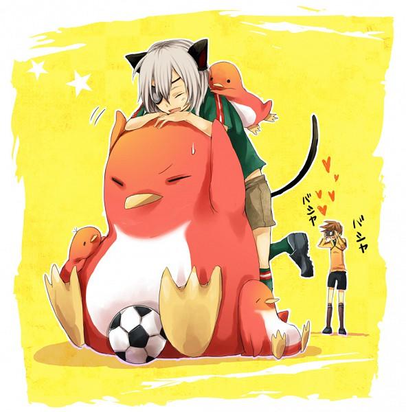 Tags: Anime, Pixiv Id 2146711, Level-5, Inazuma Eleven, Genda Koujirou, Sakuma Jirou, Fanart