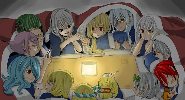 Tags: Anime, Level-5, Inazuma Eleven, Sakuma Jirou, Shiden Kai, Fuai Rui, Kiyama Hiroto, Kazemaru Ichirouta, Shimozuru Arata, Miyasaka Ryou, Kame Reon, Afuro Terumi, Yamino Kageto