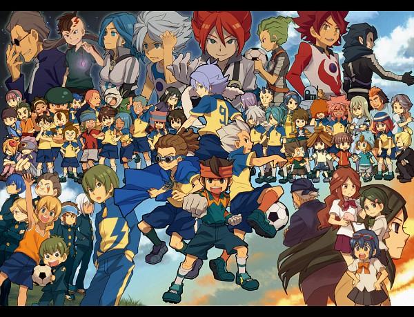Tags: Anime, Level-5, Inazuma Eleven, Kidou Yuuto, Kira Hitomiko, Suzuno Fuusuke, Handa Shinichi, Gouenji Shuuya, Kogure Yuuya, Nagumo Haruya, Otonashi Haruna, Yamino Kageto, Kazemaru Ichirouta