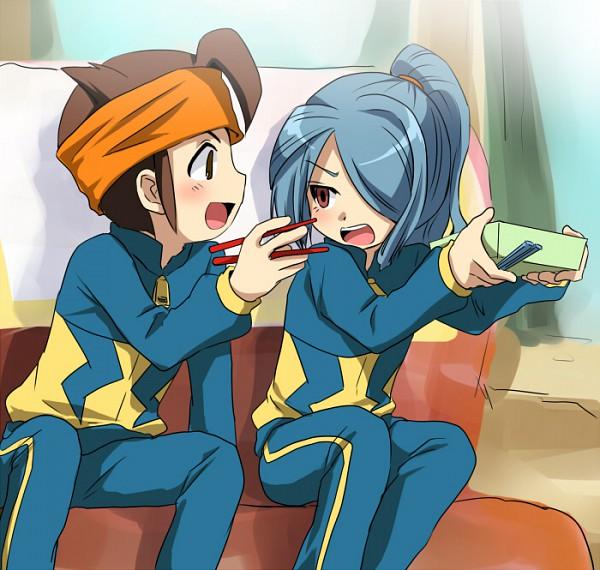 Tags: Anime, Inazuma Eleven, Endou Mamoru, Kazemaru Ichirouta, Artist Request