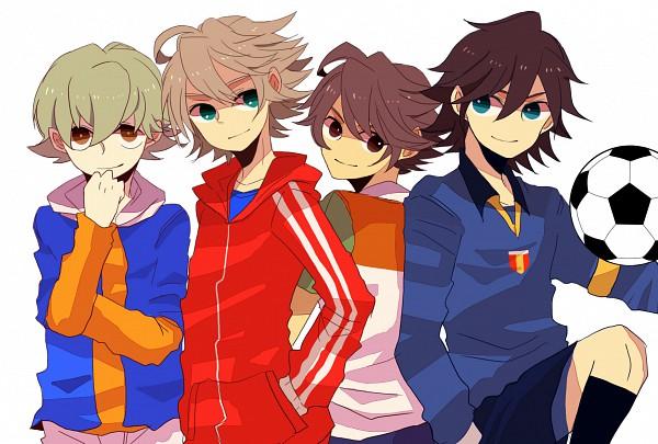 Tags: Anime, sawasawars, Inazuma Eleven, Fidio Aldena, Ichinose Kazuya, Luca (Inazuma Eleven), Mark Kruger, Unicorn Uniform, Fanart, Unicorn (Inazuma Eleven)