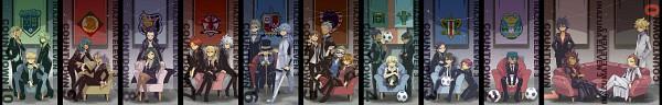 Tags: Anime, Yosakuh, Level-5, Inazuma Eleven, Luca (Inazuma Eleven), Suzuno Fuusuke, Tolue Teres, Marco Maseratti, Reef Hamilton, Nagumo Haruya, Fidio Aldena, Sain (Inazuma Eleven), Belzebu (Inazuma Eleven)
