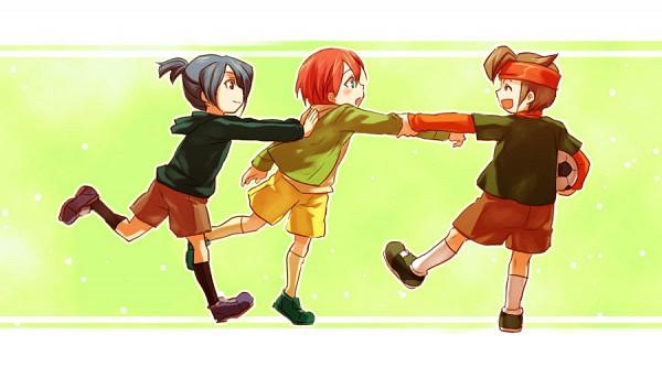 Tags: Anime, Kori (Etinop), Level-5, Inazuma Eleven, Endou Mamoru, Kiyama Hiroto, Kazemaru Ichirouta, Fanart