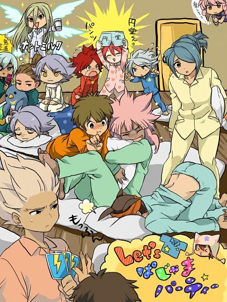 Tags: Anime, Level-5, Inazuma Eleven, Afuro Terumi, Tachimukai Yuuki, Sakuma Jirou, Fubuki Shirou, Fubuki Atsuya, Kiyama Hiroto, Kidou Yuuto, Suzuno Fuusuke, Handa Shinichi, Kazemaru Ichirouta