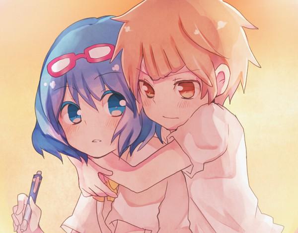Tags: Anime, Level-5, Inazuma Eleven, Angel Beats!, Otonashi Haruna, Otonashi Yuzuru, Tachimukai Yuuki