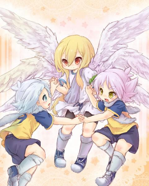 Tags: Anime, Level-5, Inazuma Eleven, Fubuki Atsuya, Afuro Terumi, Fubuki Shirou, Zeus Uniform, Fubuki Twins