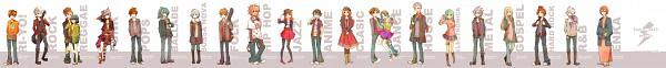Tags: Anime, Level-5, Inazuma Eleven, Gouenji Shuuya, Handa Shinichi, Afuro Terumi, Matsuno Kuusuke, Yamino Kageto, Endou Mamoru, Tsunami Jousuke, Domon Asuka, Fubuki Shirou, Raimon Natsumi