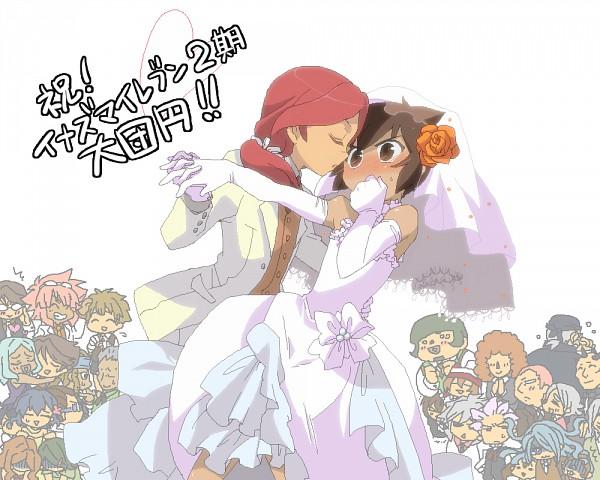 Tags: Anime, Level-5, Inazuma Eleven, Kidou Yuuto, Handa Shinichi, Nishigaki Mamoru, Ichinose Kazuya, Kino Aki, Hibiki Seigou, Gouenji Shuuya, Kabeyama Heigorou, Sakichi Shishido, Raimon Natsumi