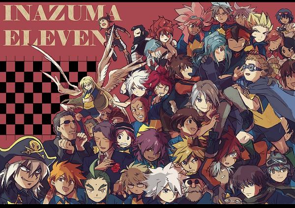 Tags: Anime, Level-5, Inazuma Eleven, Handa Shinichi, Nagumo Haruya, Narukami Kennya, Yagami Reina, Genda Koujirou, Otonashi Haruna, Someoka Ryuugo, Kidou Yuuto, Otomura Gakuya, Kazemaru Ichirouta