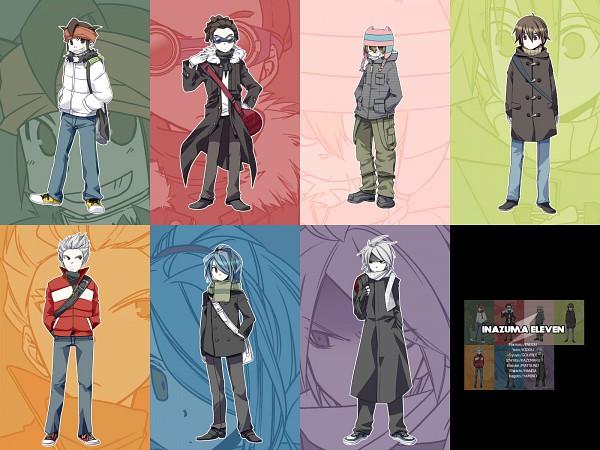 Tags: Anime, Mudo, Level-5, Inazuma Eleven, Kazemaru Ichirouta, Kidou Yuuto, Endou Mamoru, Yamino Kageto, Gouenji Shuuya, Suzuno Fuusuke, Handa Shinichi, Matsuno Kuusuke, Fanart From Pixiv