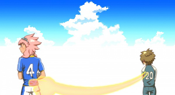 Tags: Anime, Pixiv Id 419821, Level-5, Inazuma Eleven, Tachimukai Yuuki, Tsunami Jousuke