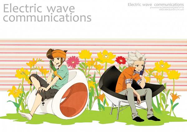Tags: Anime, Ar (Rikuesuto), Level-5, Inazuma Eleven, Gouenji Shuuya, Endou Mamoru, Pixiv