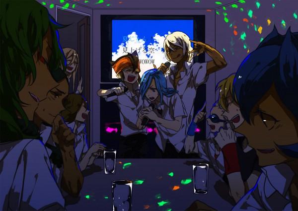 Tags: Anime, Level-5, Inazuma Eleven, Valtinas Edgar, Urupa Rococo, Björn Kyle, Tolue Teres, Afuro Terumi, Teres Tollue, Fidio Aldena, Nice Dolphin, Dylan Keith, Endou Mamoru