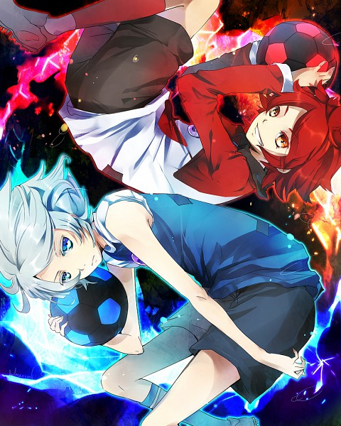 Tags: Anime, LuluSeason, Level-5, Inazuma Eleven, Suzuno Fuusuke, Nagumo Haruya, Prominence, Aliea Gakuen, Diamond Dust (Inazuma Eleven)