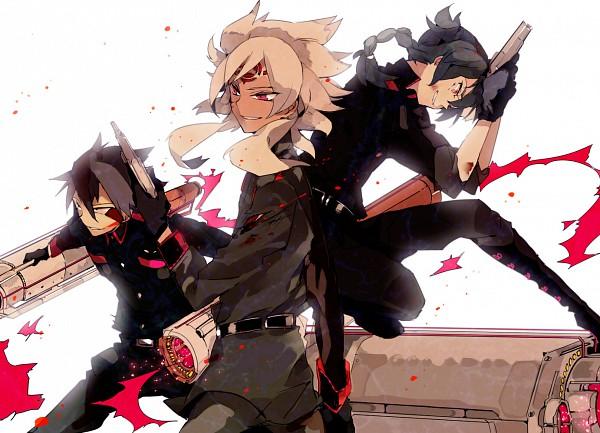 Tags: Anime, Suou, Level-5, Inazuma Eleven, Badarp Slead, Mistorene Callus, Esca Bamel, Team Ogre