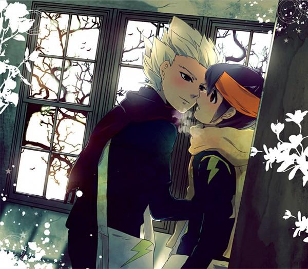 Tags: Anime, Pixiv Id 1141414, Inazuma Eleven, Endou Mamoru, Gouenji Shuuya, Pixiv
