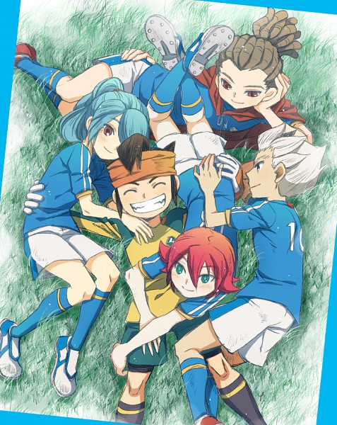Tags: Anime, Hato Niku, Level-5, Inazuma Eleven, Kazemaru Ichirouta, Endou Mamoru, Kidou Yuuto, Gouenji Shuuya, Break Team
