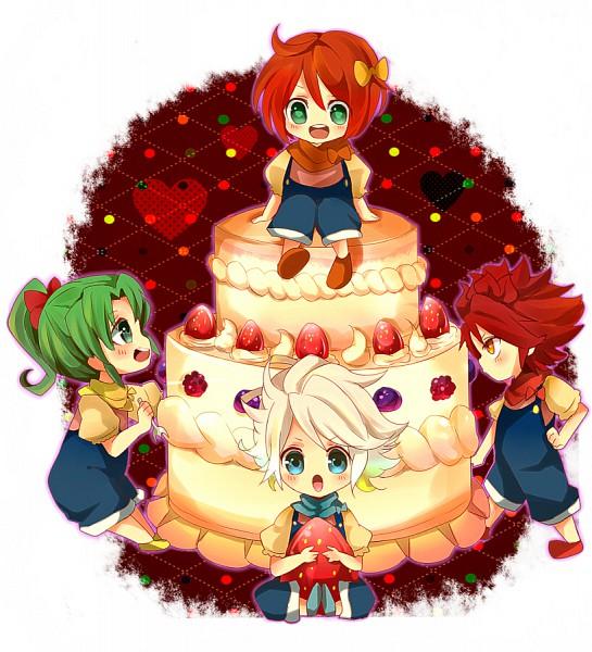 Tags: Anime, Level-5, Inazuma Eleven, Kiyama Hiroto, Suzuno Fuusuke, Nagumo Haruya, Midorikawa Ryuuji, 3top