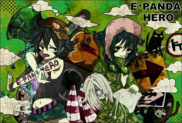 Tags: Anime, Level-5, Inazuma Eleven, Mistorene Callus, Esca Bamel, Team Ogre