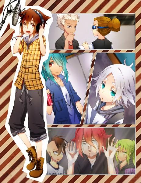 Tags: Anime, Puririririn, Level-5, Inazuma Eleven, Kidou Yuuto, Gouenji Shuuya, Kazemaru Ichirouta, Midorikawa Ryuuji, Endou Mamoru, Kiyama Hiroto, Fudou Akio, Fubuki Shirou, Inazuma All Stars