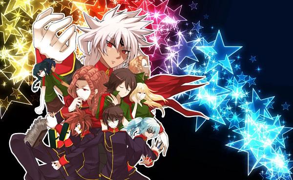 Tags: Anime, Guutara, Level-5, Inazuma Eleven, Esca Bamel, Kidou Yuuto, Demonio Strada, Genda Koujirou, Fidio Aldena, Sakuma Jirou, Badarp Slead, Fudou Akio, Afuro Terumi