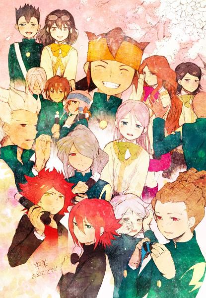 Tags: Anime, hakusai, Level-5, Inazuma Eleven, Kiyama Hiroto, Kudou Fuyuka, Kazemaru Ichirouta, Raimon Natsumi, Nagumo Haruya, Handa Shinichi, Endou Mamoru, Utsunomiya Toramaru, Fubuki Shirou