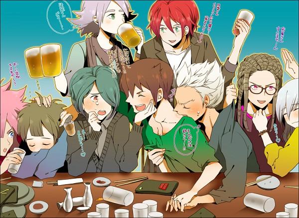 Tags: Anime, Yui (Rogusouku), Level-5, Inazuma Eleven, Fubuki Shirou, Gouenji Shuuya, Tsunami Jousuke, Kazemaru Ichirouta, Sakuma Jirou, Endou Mamoru, Tachimukai Yuuki, Kiyama Hiroto, Kidou Yuuto