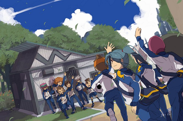 Tags: Anime, Pixiv Id 296499, Level-5, Inazuma Eleven, Someoka Ryuugo, Handa Shinichi, Kageno Jin, Kabeyama Heigorou, Kazemaru Ichirouta, Yamino Kageto, Matsuno Kuusuke, Endou Mamoru, Kurimatsu Teppei