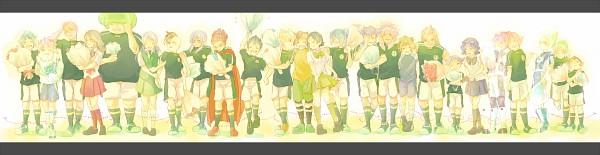Tags: Anime, Haiko (Pixiv2170013), Level-5, Inazuma Eleven, Sakuma Jirou, Kino Aki, Kazemaru Ichirouta, Kidou Yuuto, Kudou Fuyuka, Kiyama Hiroto, Raimon Natsumi, Kurimatsu Teppei, Endou Mamoru
