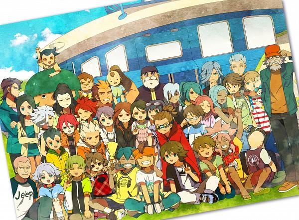 Tags: Anime, hakusai, Cardcaptor Sakura, Inazuma Eleven, Kira Hitomiko, Sakuma Jirou, Saginuma Osamu, Urabe Rika, Fubuki Shirou, Kidou Yuuto, Fidio Aldena, Hiiragizawa Eriol, Kiyama Hiroto