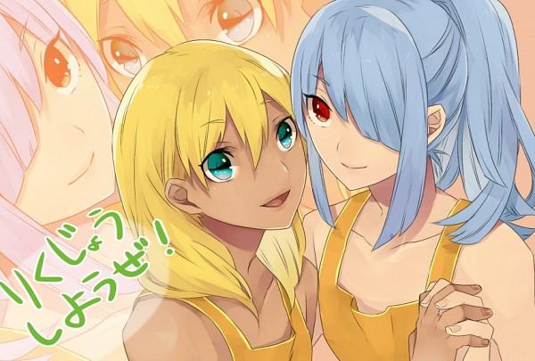 Tags: Anime, Level-5, Inazuma Eleven, Kazemaru Ichirouta, Miyasaka Ryou