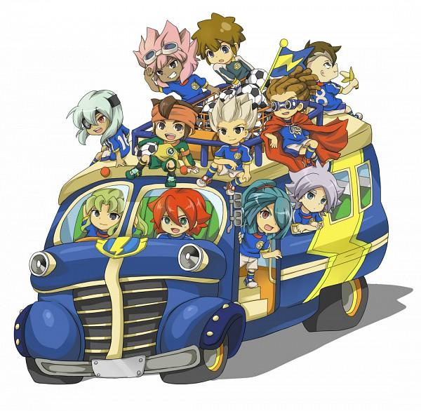 Tags: Anime, Pixiv Id 534010, Inazuma Eleven, Fubuki Shirou, Tsunami Jousuke, Kazemaru Ichirouta, Fudou Akio, Midorikawa Ryuuji, Endou Mamoru, Tachimukai Yuuki, Sakuma Jirou, Kidou Yuuto, Kiyama Hiroto