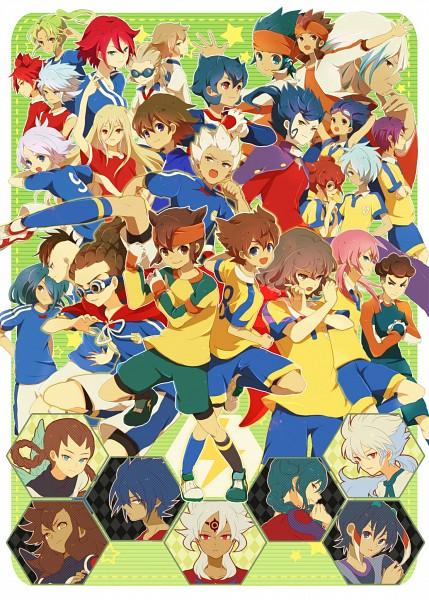 Tags: Anime, Yy888s, Inazuma Eleven GO, Inazuma Eleven, Fidio Aldena, Shindou Takuto, Hamano Kaiji, Midorikawa Ryuuji, Sain (Inazuma Eleven), Fubuki Shirou, Hakuryuu (Inazuma Eleven), Dylan Keith, Badarp Slead