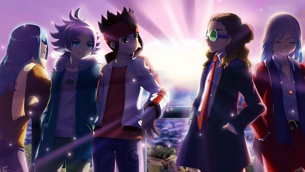 Tags: Anime, Pixiv Id 303449, Level-5, Inazuma Eleven GO, Inazuma Eleven, Kidou Yuuto, Endou Mamoru, Gouenji Shuuya, Fubuki Shirou, Kazemaru Ichirouta, Ishido Shuuji, Red Coat, Red Pants