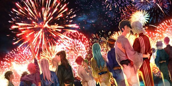 Tags: Anime, Riel (Artist), Inazuma Eleven GO, Inazuma Eleven, Tachimukai Yuuki, Sakuma Jirou, Kazemaru Ichirouta, Kidou Yuuto, Kiyama Hiroto, Endou Mamoru, Gouenji Shuuya, Someoka Ryuugo, Fudou Akio