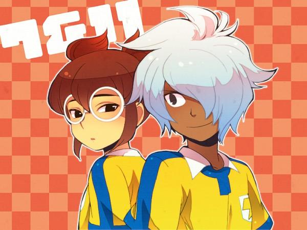 Tags: Anime, Hajime (Vasu), Level-5, Inazuma Eleven, Inazuma Eleven GO, Kurama Norihito, Hayami Tsurumasa