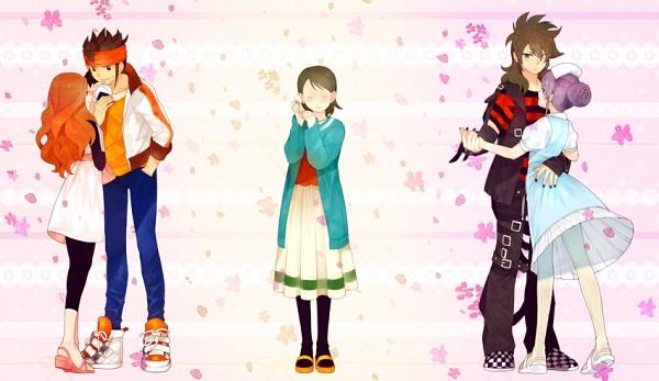 Tags: Anime, hakusai, Level-5, Inazuma Eleven, Inazuma Eleven GO, Kudou Fuyuka, Endou Mamoru, Fudou Akio, Kino Aki, Raimon Natsumi