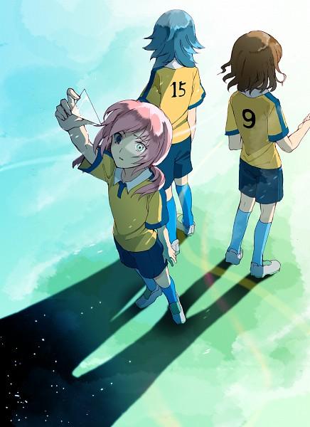 Tags: Anime, Sisutakh, Inazuma Eleven GO, Kirino Ranmaru, Shindou Takuto, Kariya Masaki, Mobile Wallpaper, Pixiv, Fanart