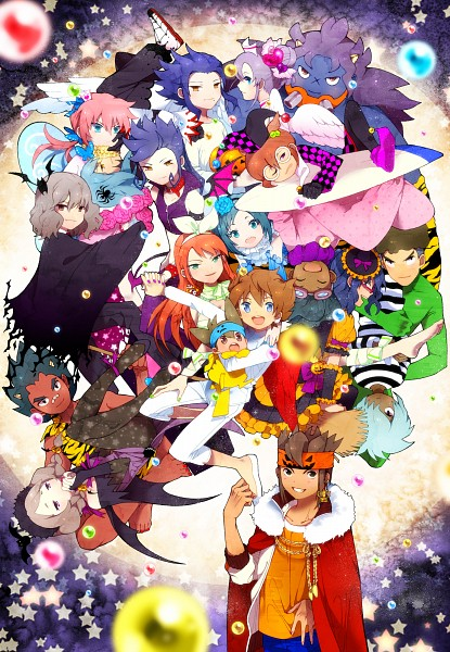 Tags: Anime, hakusai, Inazuma Eleven GO, Inazuma Eleven, Yamana Akane, Otonashi Haruna, Hayami Tsurumasa, Tsurugi Kyousuke, Seto Midori, Matsukaze Tenma, Sorano Aoi, Sangoku Taichi, Shindou Takuto