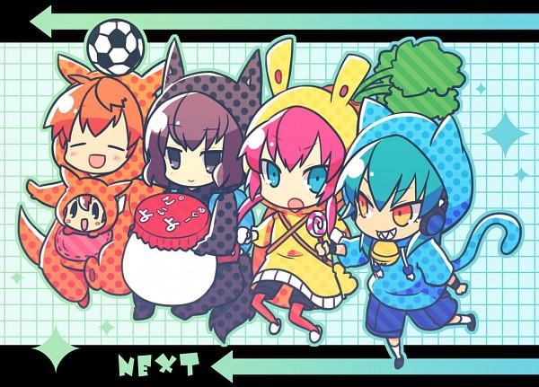Tags: Anime, Yuzuki Gao, Inazuma Eleven GO, Shindou Takuto, Nishizono Shinsuke, Kirino Ranmaru, Kariya Masaki, Matsukaze Tenma, Pixiv, Fanart