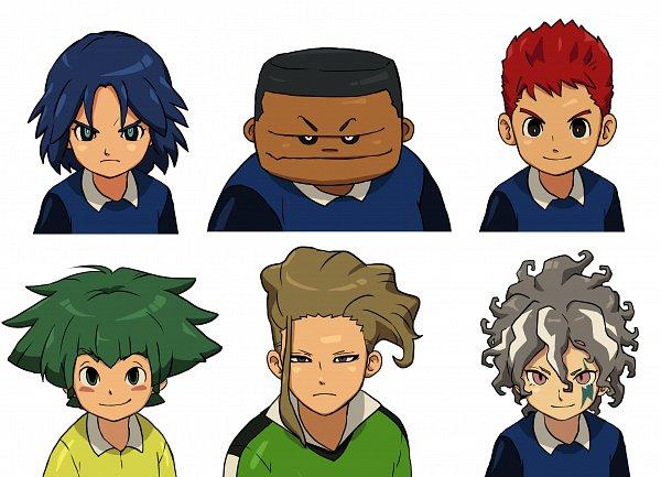 Tags: Anime, Pixiv Id 3016643, Inazuma Eleven Orion no Kokuin, Inazuma Eleven: Ares no Tenbin, Inazuma Eleven, Kira Hiroto, Nishikage Seiya, Kira Hiroto (Ares), Li Hao, Sakanoue Noboru, Ichihoshi Mitsuru, Iwato Takashi, Inazuma Japan (Orion) Uniform, Inazuma Eleven Mark Of Orion