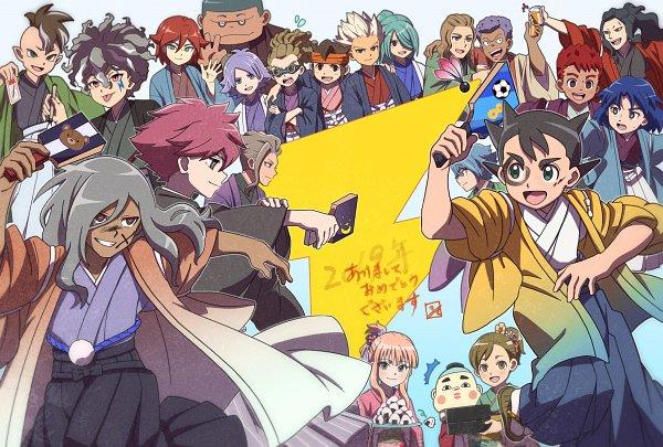 Tags: Anime, Pixiv Id 31352791, Inazuma Eleven Orion no Kokuin, Inazuma Eleven: Ares no Tenbin, Inazuma Eleven, Li Kobun, Gouenji Shuuya, Haizaki Ryouhei, Kiyama Tatsuya, Mikado Anna, Fubuki Shirou, Iwato Takashi, Saginuma Osamu, Inazuma Eleven Mark Of Orion